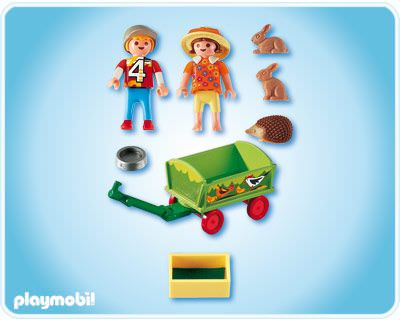 Playmobil 4349 - Pet Transport - Back