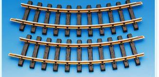 Playmobil - 4368 - 2 Curved Tracks