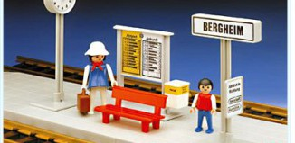 Playmobil - 4371 - Small Train Platform