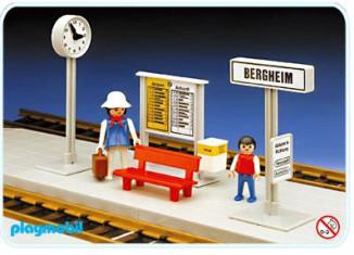 Playmobil - 4371 - Small Train Platform