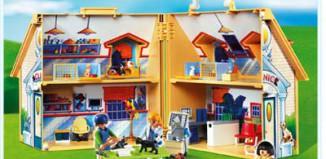 Playmobil - 4374 - Take-Along Veterinary Clinic