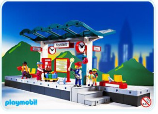 Playmobil - 4382 - Train Platform.
