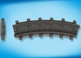 Playmobil - 4387v1 - 2 Curved Tracks