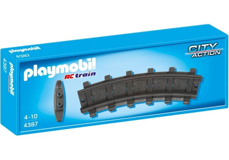 Playmobil 4387v1 - 2 Curved Tracks - Box