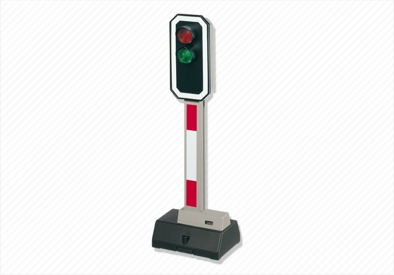 Playmobil 4397 - Electrical Signal - Back