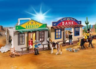 Playmobil - 4398 - Oficina del sheriff y banco del oeste