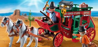 Playmobil - 4399 - Express Stagecoach