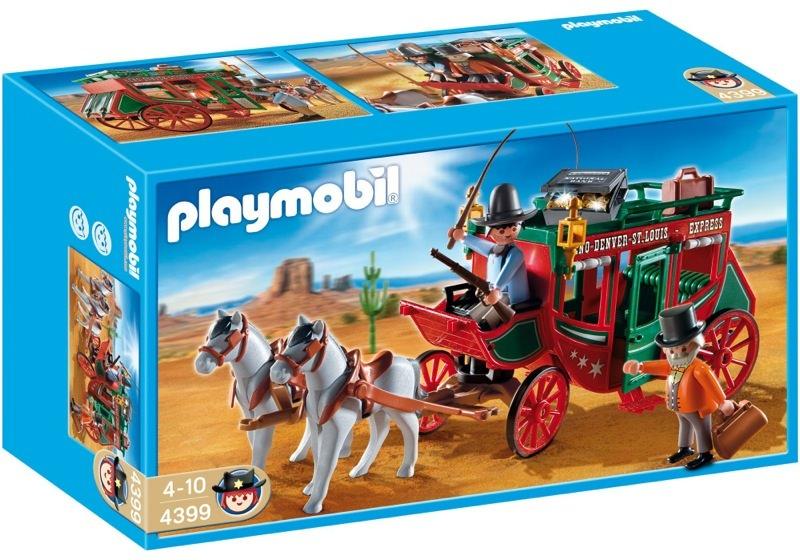 Playmobil 4399 - Express Stagecoach - Box