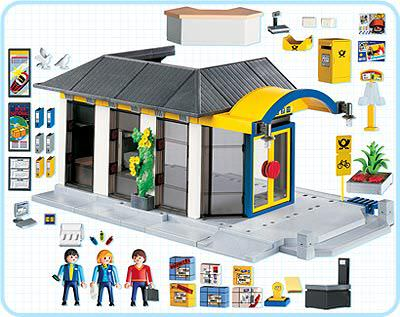 Playmobil 4400 - Post Office - Back