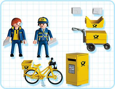 Playmobil 4403 - Mail Carriers - Back