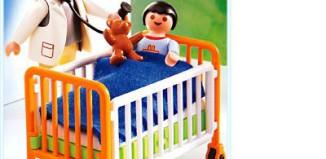 Playmobil - 4406 - Hospital cot