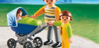 Playmobil - 4408 - Dad with Stroller