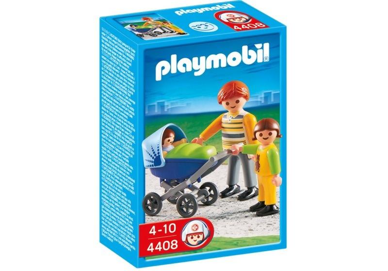 Playmobil 4408 - Dad with Stroller - Box