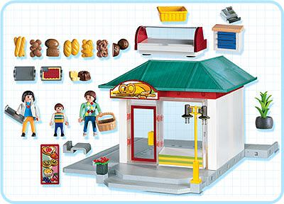 Playmobil 4410 - Bakery - Back