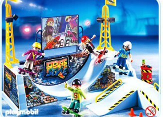 Playmobil - 4414 - Skate Park with Halfpipe