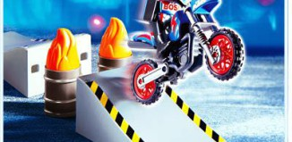 Playmobil - 4416 - Motocross Rider with Ramp