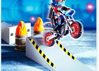 Playmobil - 4416 - Motocross Rider with Ramp