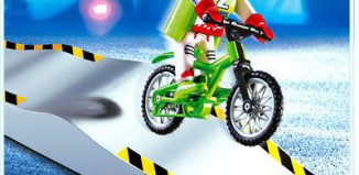 Playmobil - 4417 - Biker with Ramp