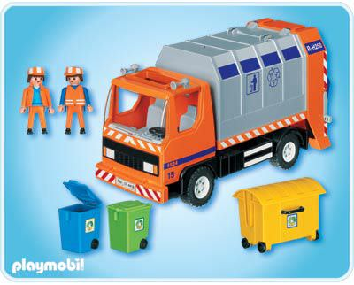 Playmobil 4418 - Müllabfuhr - Zurück