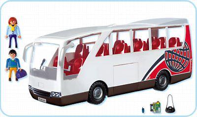 Playmobil 4419 - Travel Bus - Back