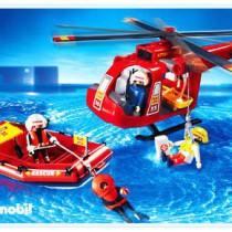 Playmobil - Helicóptero y lancha rescate