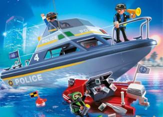 Playmobil - 4429v1 - Police launch