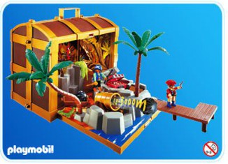 Playmobil - 4432 - Piratenschatztruhe