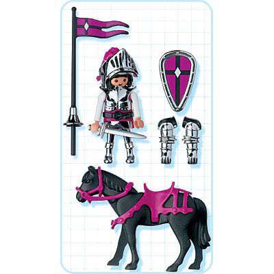 Playmobil 4434 - Silver Knight - Back