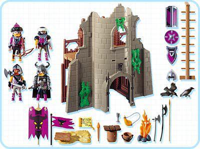 Playmobil 4435 - Barbarian Ruin - Back