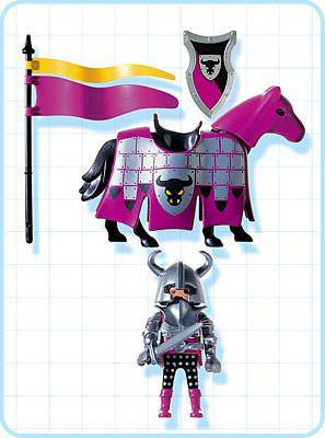 Playmobil 4436 - Barbarian Knight - Back