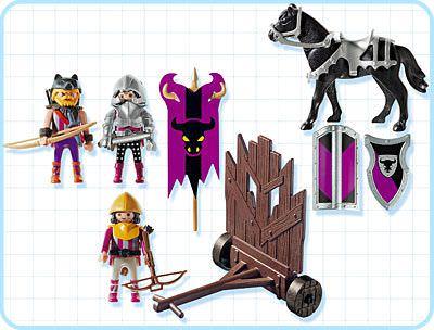 Playmobil 4437 - Barbarians Attack Troop - Back
