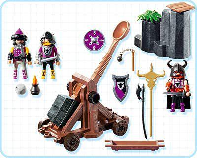 Playmobil 4438 - Barbarian Catapult - Back