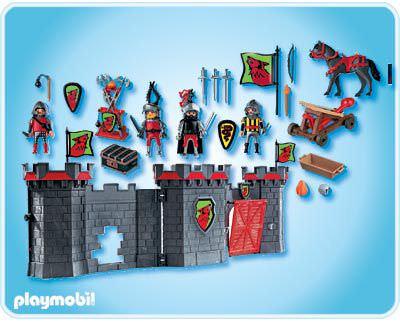 Playmobil 4440 - Knight's Take Along Castle - Back