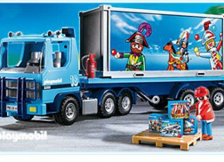 Playmobil - 4447 - Playmobil Container Truck