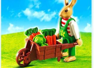 Playmobil - 4451 - Easter Bunny with Wheelbarrow