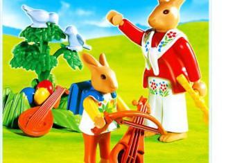 Playmobil - 4456 - Bunnies` Music Lesson