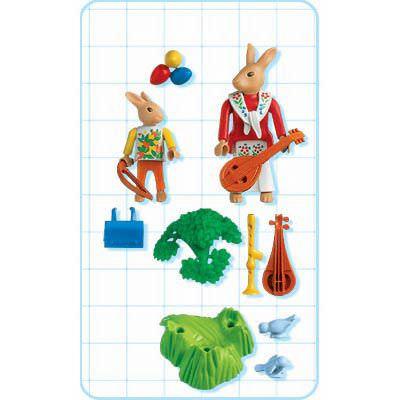 Playmobil 4456 - Bunnies` Music Lesson - Back