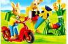 Playmobil - 4458 - Conejos con patinete