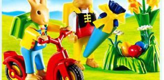 Playmobil - 4458 - Bunnies` First Day of School