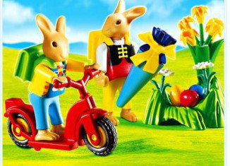 Playmobil - 4458 - Bunnies` First Day of School