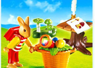 Playmobil - 4459 - Easter Bunny Naturalist