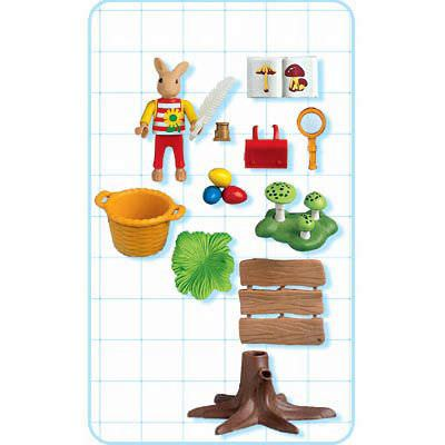 Playmobil 4459 - Easter Bunny Naturalist - Back
