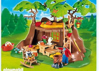 Playmobil - 4460 - Easter bunny Tree-House