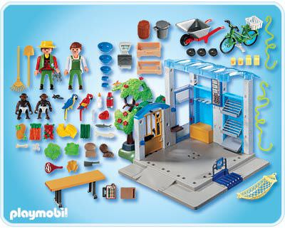 Playmobil 4461 - Feeding Station - Back