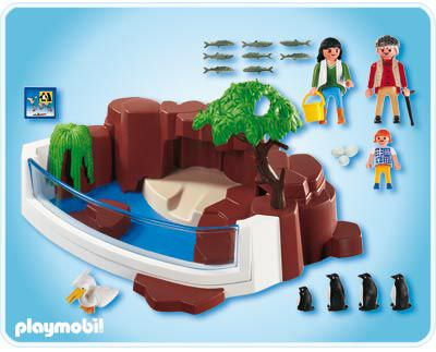 Playmobil 4462 - Penguins - Back