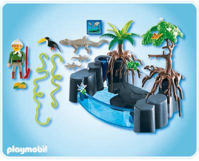 Playmobil 4463 - Caiman Basin - Back