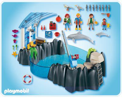 Playmobil 4468 - Dolphin Basin - Back