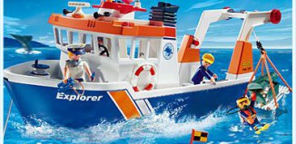 Playmobil - 4469 - Expedition Ship