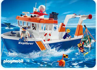Playmobil - 4469 - Expedition Ship