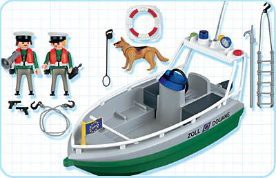 Playmobil 4471 - Harbour Police - Back